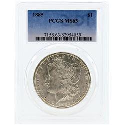 1885 PCGS MS63 Morgan Silver Dollar