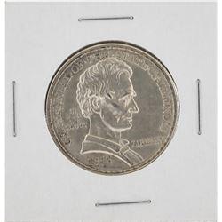 1918 Illinois Centennial Commemorative Half Dollar Coin