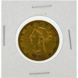 1906-S $10 XF Liberty Head Eagle Gold Coin