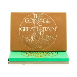 1974-1976 Coinage of Great Britain and Northern Ireland Proof Set