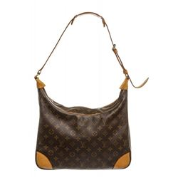 Louis Vuitton Monogram Canvas Leather Boulogne 35 cm Bag