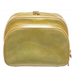 Louis Vuitton Green Vernis Monogram Murray Backpack Bag