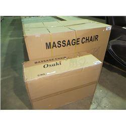 NEW  BOXED DARK  BROWN  OSAKI FULL BODY MASSAGE CHAIR(MODEL OS4000)