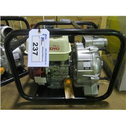 "NEW YAMAKOYO MODEL  TP-50 2"" TRASH PUMP WITH 6.5 HP MOTOR PUMPS 158/GPM"
