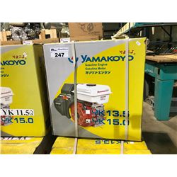 NEW YAMAKOYO MODEL  1500 15.0 HP  4 STROKE ENGINE