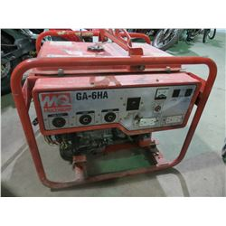 MULTIQUIP GA-6HA GENERATOR WITH 11.0 HP HONDA MOTOR