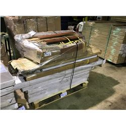 PALLET OF CANTRUST ASSORTED SOLID & ENGINEERED FLOORING