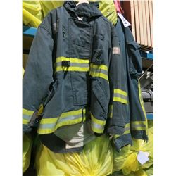 BAG OF 10 FIRE PROTECTIVE JACKETS/BAG OF 10 FIRE PROTECTIVE PANTS