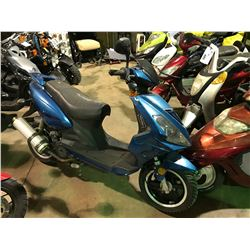 BLUE SCOOTER   (NO CHARGER OR REGISTRATION OR KEY)