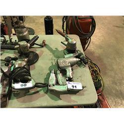 """2 AIR DRILLS/1/2""""PACT GUN/AIR CHISEL/AIR SANDER"""