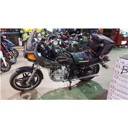 1981 HONDA GL500 MOTORCYCLE, BLACK, VIN # JH2PC0207BM002334