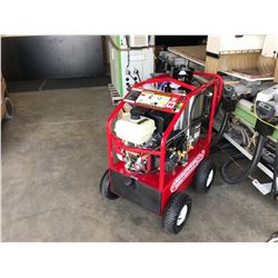 NEW MAGNUM 4000 SERIES GOLD PRESSURE WASHER WITH DIESEL FIRE BURNER & 15HP ELECTRONIC IGNITION