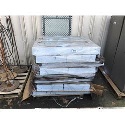 PALLET OF FLUORESCENT SHOP LIGHTS