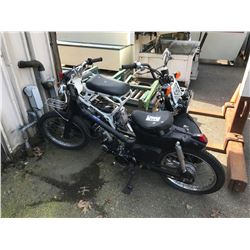HONDA RUCKUS SCOOTER & LIFFIN SCOOTER FOR PARTS OR REPAIR (NO REGISTRATION)