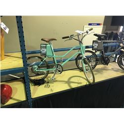NEW IN BOX MINT GREEN  YUNBIKE SURFACE604 C SERIES WITH LI-ION TECHNOLOGY RECHARGEABLE  LADIES BIKE