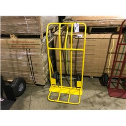 """YELLOW 26"""" WIDE COMMERCIAL GRADE 2 WHEEL  DOLLY"""