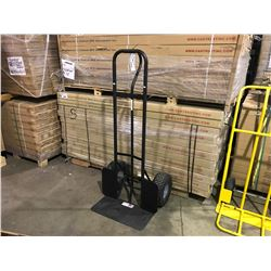 """BLACK  26"""" WIDE COMMERCIAL GRADE DOLLY WITH HEAVY DUTY TIRES"""