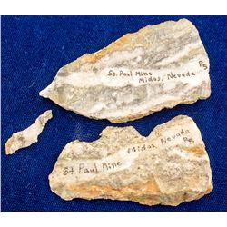 St. Paul Mine Specimens, Midas, Nevada