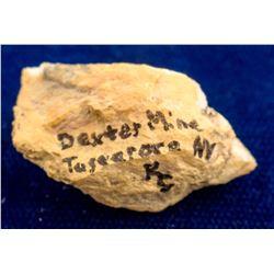 Dexter Mine Gold Specimen, Tuscarora, Nevada