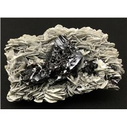 Cassiterite and Muscovite from China