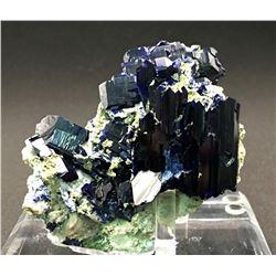 Azurite from Tsumeb Mine, Namibia