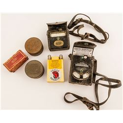 Explosives Collection: 2 Blasting Galvanometer, Handi-Blaster Box, Plus More