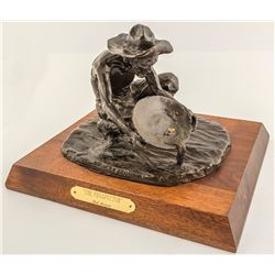 Bob Scriver Prospector Bronze Sculpture