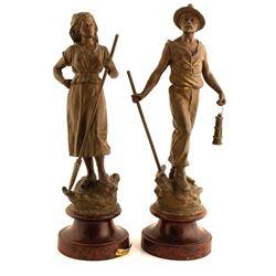 2 Mining Statues