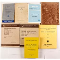 8 Nevada Geology Books