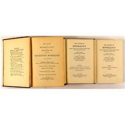 3 Dana's Mineralogy Books