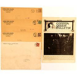 5 Copper Queen, Bisbee AZ Paper Items