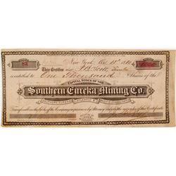Southern Eureka Mining Co. Stock Certificate