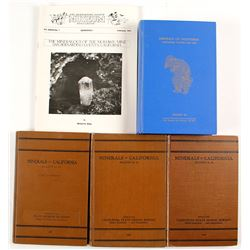 5 California Mineral Publications