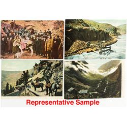 16 Colorado Mining Postcards