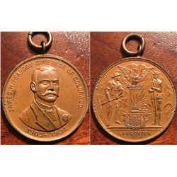 Peabody Medal, Awarded to Colorado Militia for Mining Labor Strike Wars