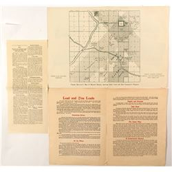 Kansas Lead and Zinc Map and Brochure