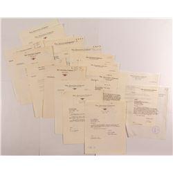Anaconda Company Letters