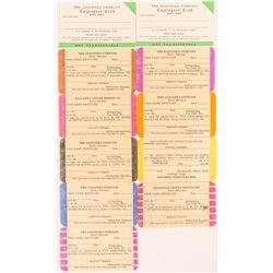 Anaconda Mining Company Employee Cards