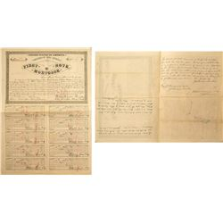 Fronner Gold and Silver Mining Company Territorial First Note Mortgage