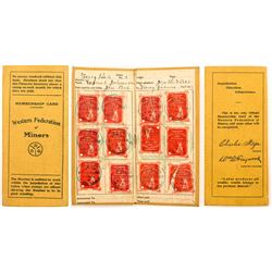 1905 Miner's Union Member Card