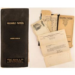 Collection of Mining Documents from Arthur Loiselle, Montana