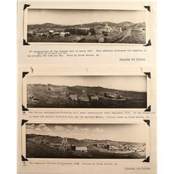 Three Panoramas of the Mill at Mill City in 1935