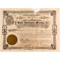 Lida Standard Mining Co. Certificate