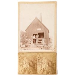 New Hampshire Mining Stereoview and Photo