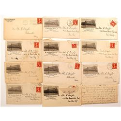 Letters and Covers from John. E. Dwight 1902-1903