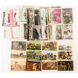 Approx 140 Pennsylvania Coal Mining Postcards