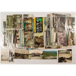 Approx 170 Vermont Quarry/Mines Postcards with RPC's