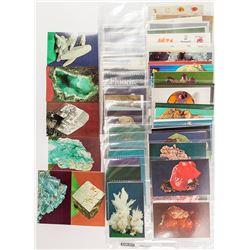 Color Mineral Postcards