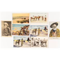 Eight Prospector Postcards