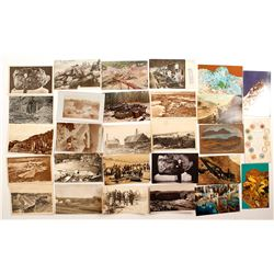 Foreign Mining Postcard Collection with RPC's